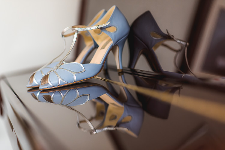 Blue Rachel Simpson Shoes Bride Bridal Mismatched Farm Tipi Wedding http://www.andrewkeher.co.uk/