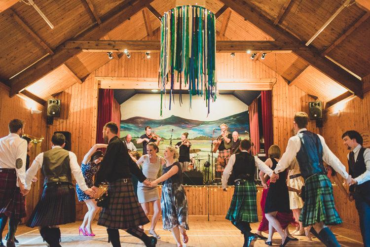 Ceilidh Band Cornflower Blue Jade Green Scottish Wedding http://www.mattpenberthy.com/