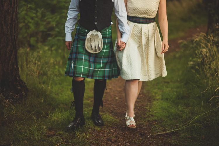 Cornflower Blue Jade Green Scottish Wedding http://www.mattpenberthy.com/