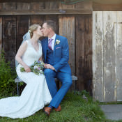 Sage & Lilac Country Marquee Wedding