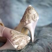 Stunning Bridal Shoes by Pink Paradox London