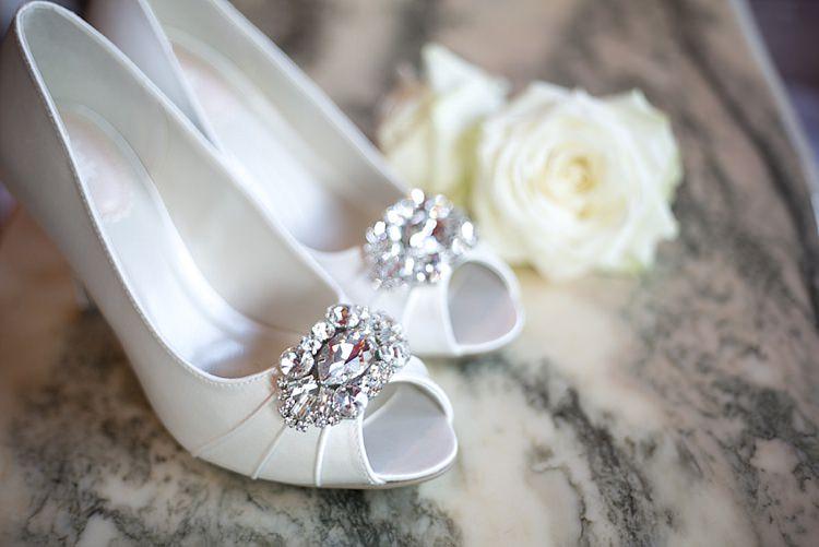 Bridal Shoes by Pink Paradox London