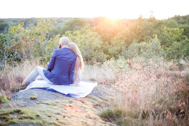 Swedish Sunset Lake Engagement http://cecelinaphotography.com/