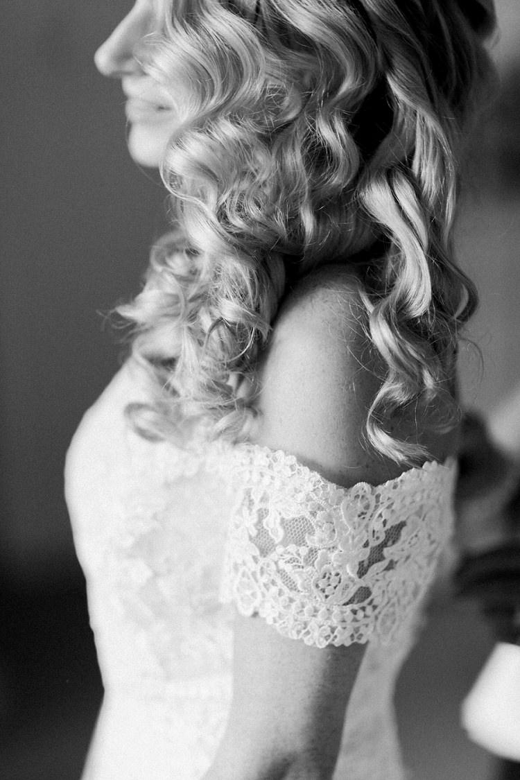 Off Shoulder Dress Gown Bride Bridal La Sposa Romantic Metallic Blush Wedding http://www.craigsandersphotography.co.uk/