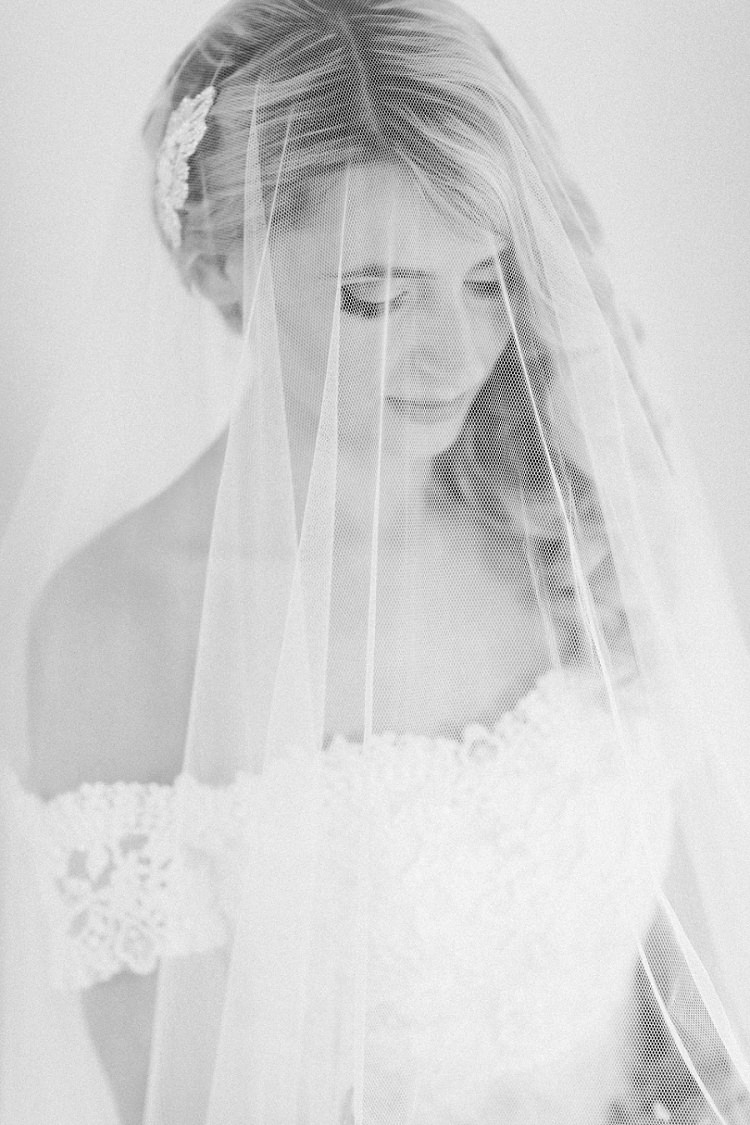 Veil Bride Lace Romantic Metallic Blush Wedding http://www.craigsandersphotography.co.uk/