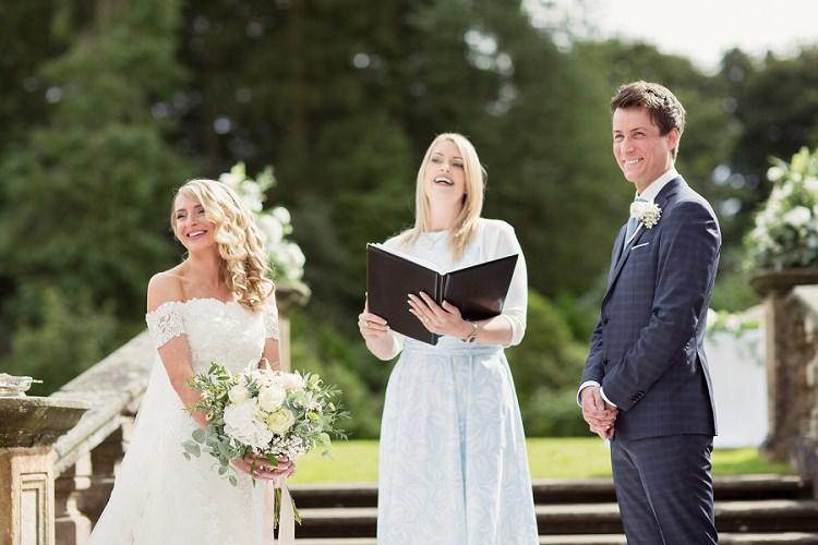 Romantic Metallic Blush Wedding http://www.craigsandersphotography.co.uk/