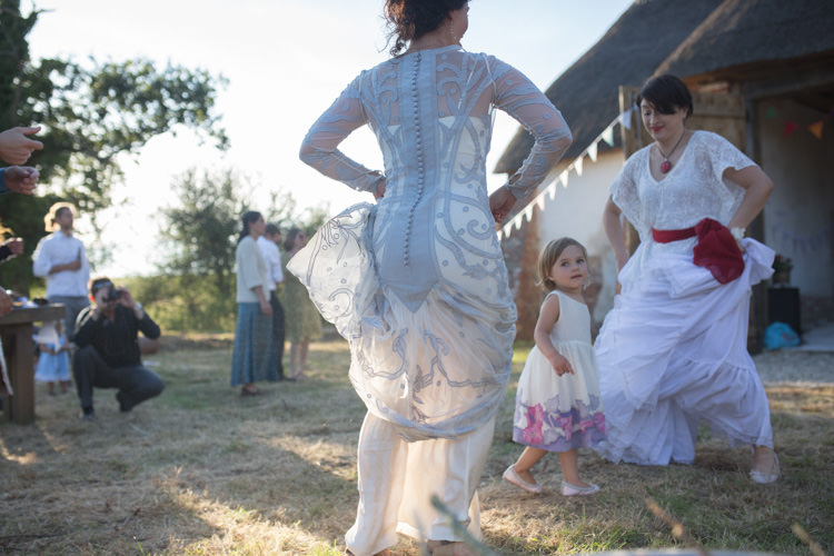 Temperley Gray Long Francine Tattoo Dress Farm Barn Wedding http://www.florencefox.com/