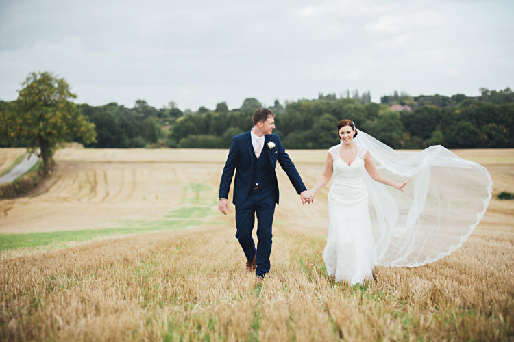 Pale Pink & Lace Farm Wedding http://hbaphotography.com/