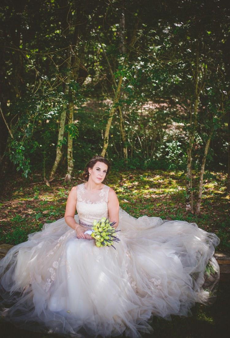 Whimsical Woodland Earthy Wedding In Georgia Whimsical