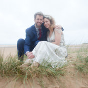 Humanist Holkham Beach Vow Renewal