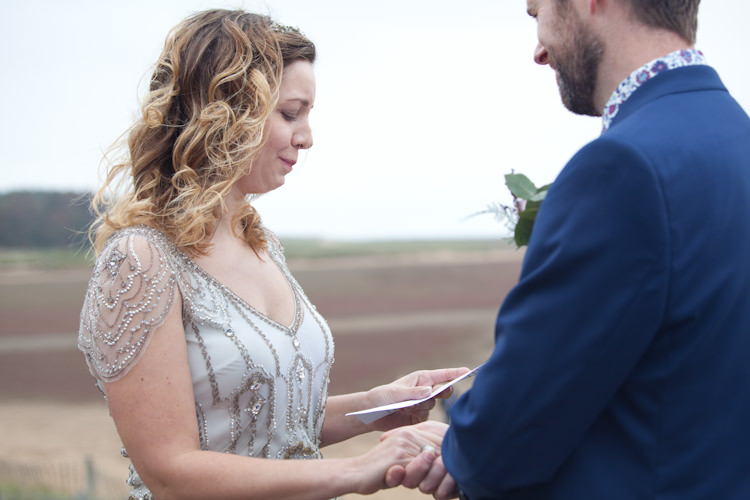 Holkham Beach Vow Renewal http://emmastonerweddings.com/