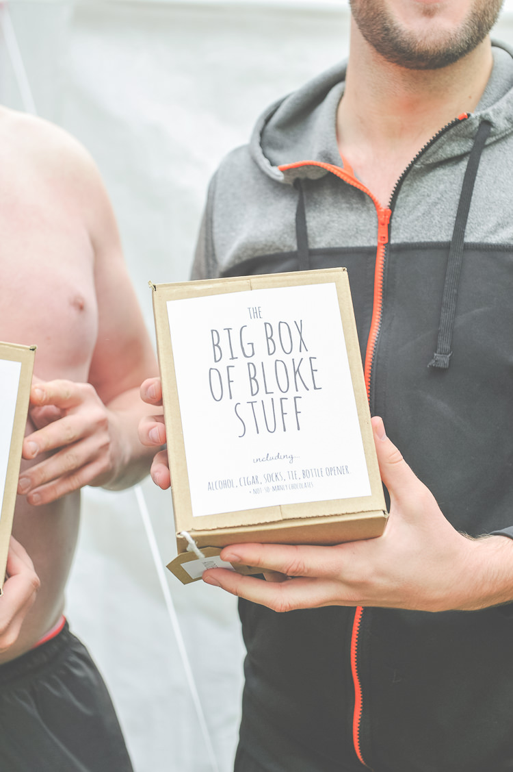 Groom Groomsmen Gifts Presents Quirky Natural Woodland Wedding http://lisahowardphotography.co.uk/
