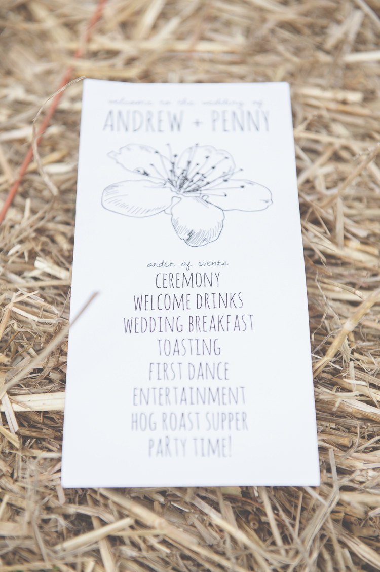 Illustrated Stationery Order Service Floral Flower Quirky Natural Woodland Wedding http://lisahowardphotography.co.uk/