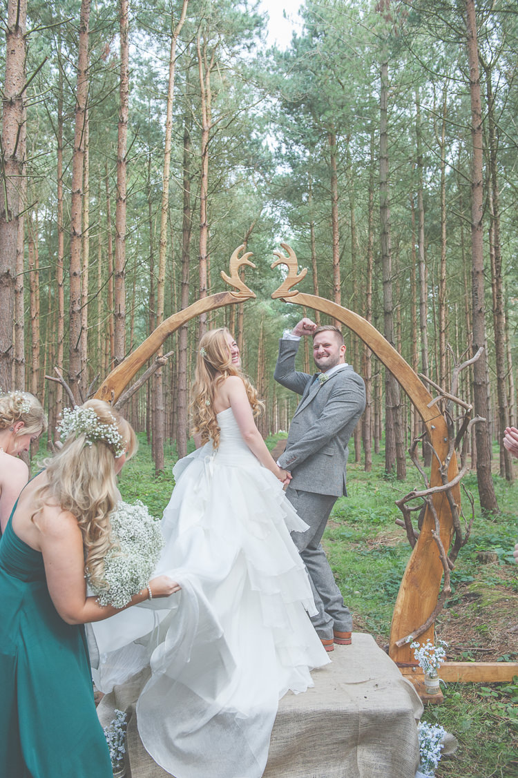 Quirky Natural Amp Fun Woodland Wedding Whimsical