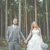 Quirky Natural & Fun Woodland Wedding