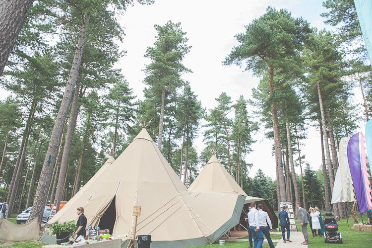 Tipi Quirky Natural Woodland Wedding http://lisahowardphotography.co.uk/