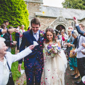 Pretty & Home Made Country Village Hall Wedding