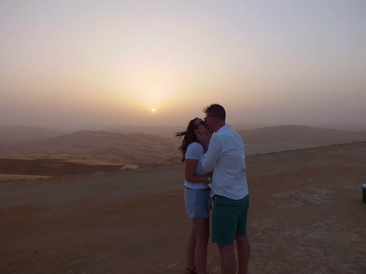 Desert Engagement Proposal