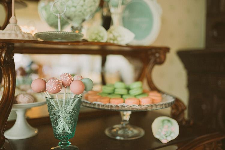 Sweet Dessert Table Mint Chemistry Outdoor Wedding Estonia http://sokkphoto.com/