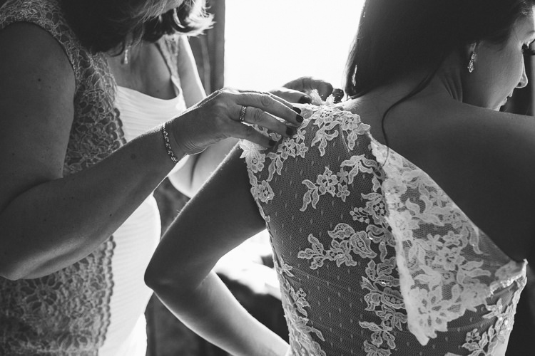 Lace Back Gown Dress Bride Bridal Chic Hollywood Glamour Wedding http://www.kategrayphotography.com/