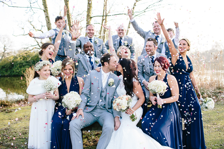Confetti Throw Chic Hollywood Glamour Wedding http://www.kategrayphotography.com/