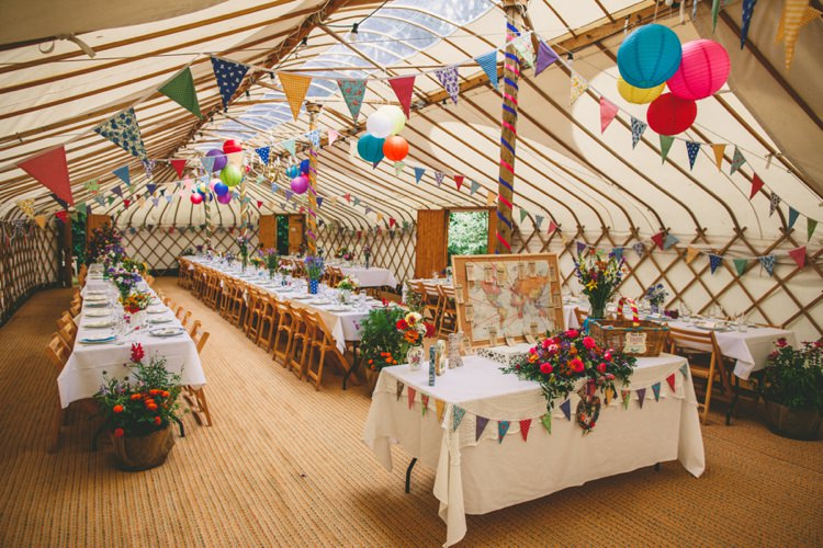 Wedding Yurt Bunting Ideas Decor Decoration http://www.mikiphotography.info/
