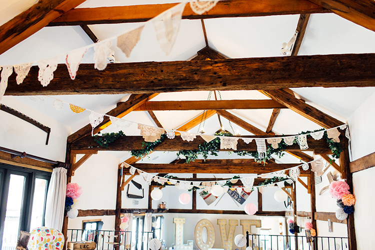 Doily Wedding Bunting Ideas Decor Decoration http://www.frecklephotography.co.uk/