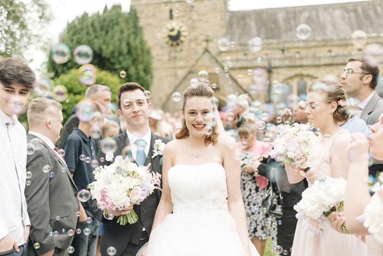 Bubble Confetti Chic Pastel City Wedding http://sarahjaneethan.co.uk/