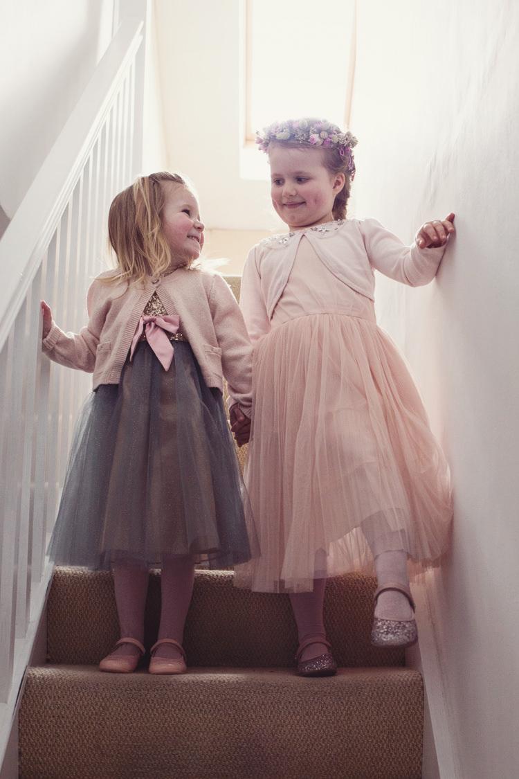 Tulle Dresses Cardigans Flower Girls Colourful Crafty Country Spring Village Wedding http://myfabulouslife.co.uk/
