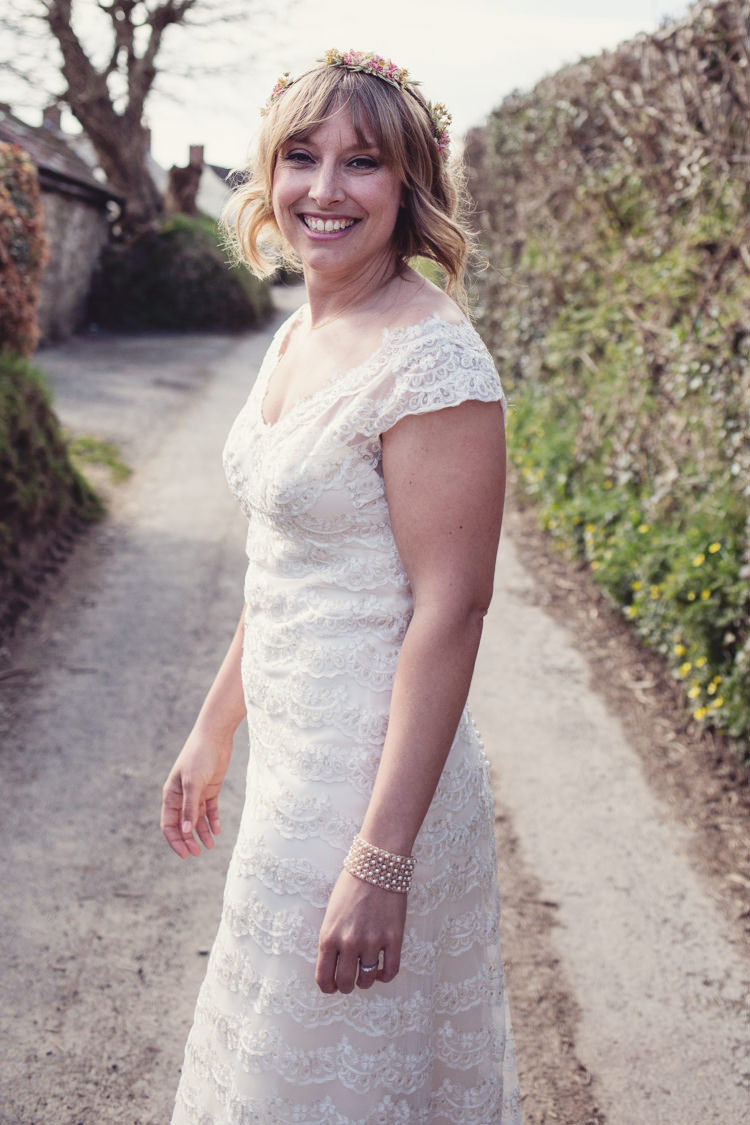 Sottero and Midgley Dress Gown Bride Bridal Colourful Crafty Country Spring Village Wedding http://myfabulouslife.co.uk/
