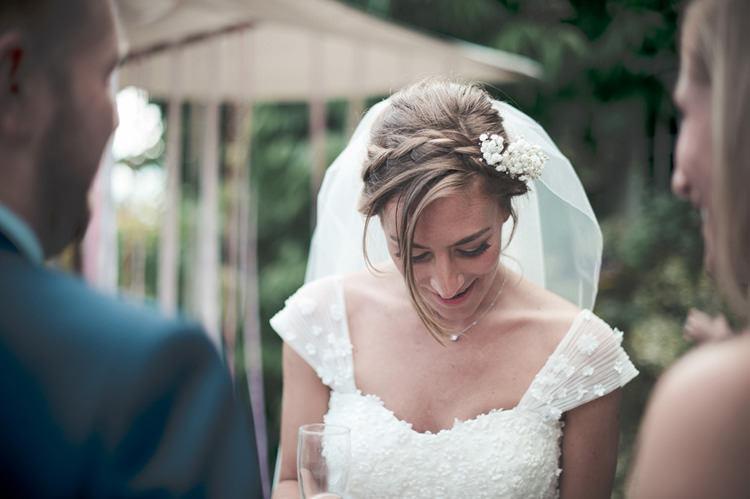 Plait Braid Hair Style Bride Bridal Beautiful Summer Garden Party Wedding http://divinedayphotography.com/