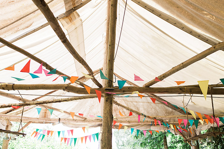 Colourful Wedding Bunting Ideas Decor Decoration http://www.ilariapetrucci.co.uk/