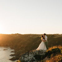 Bohemian Origami Guernsey Wedding http://janiceyiphotography.ca/