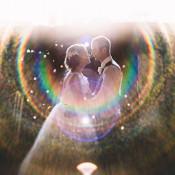 Magical Grey & Coral Barn Wedding