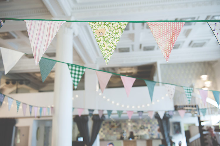 Wedding Bunting Ideas Decor Decoration http://lisahowardphotography.co.uk/