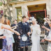 Modern Chic & Stylish City Wedding