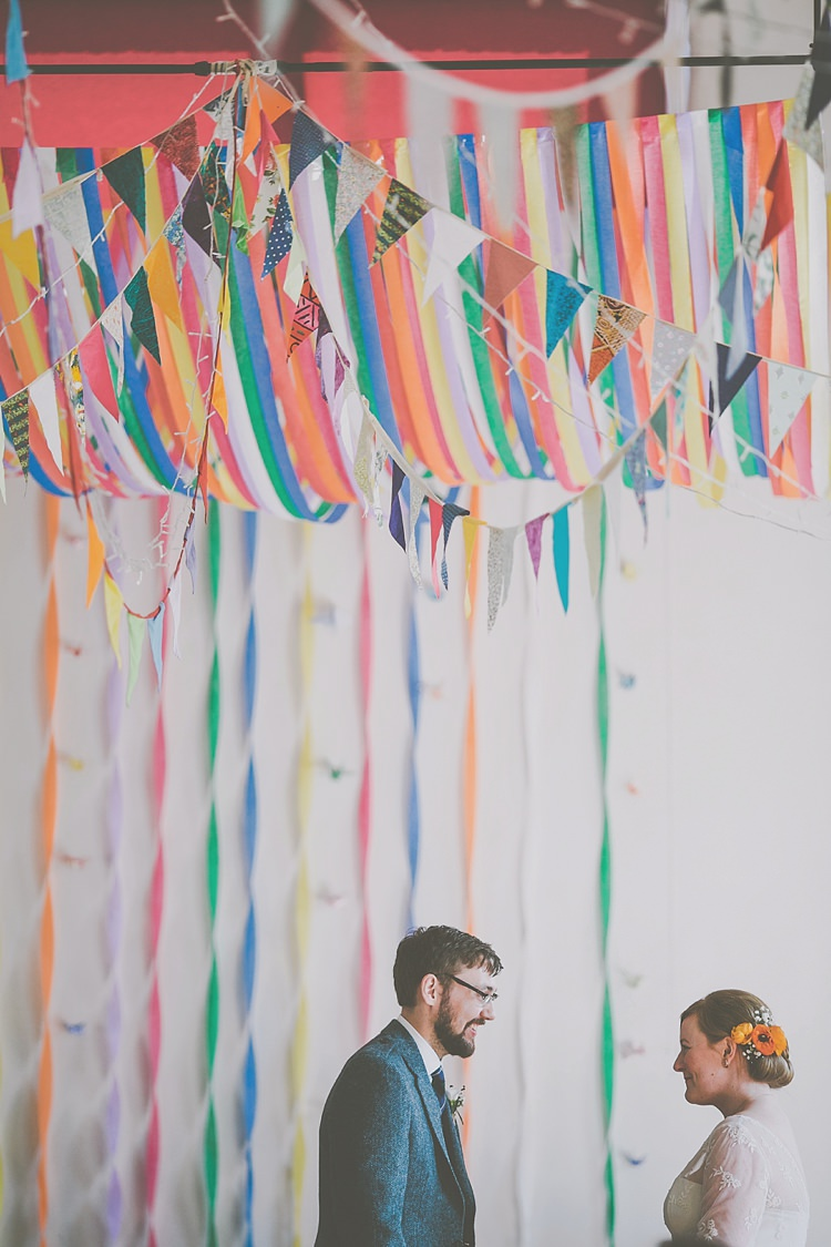 Colourful Wedding Bunting Ideas Decor Decoration https://meliamelia.com/