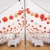 Wedding Pom Pom Ideas Inspiration http://www.emmacleveley.co.uk/