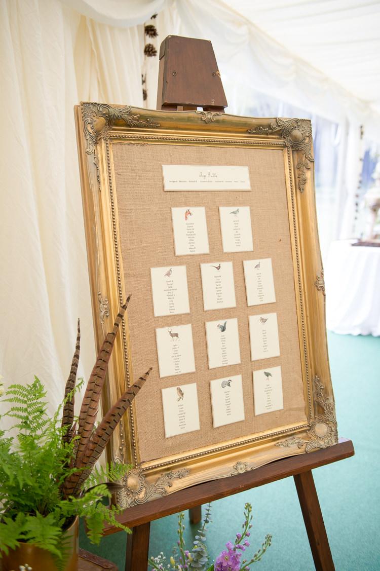 Wedding Seating Chart Photo Frame Wedding Galery