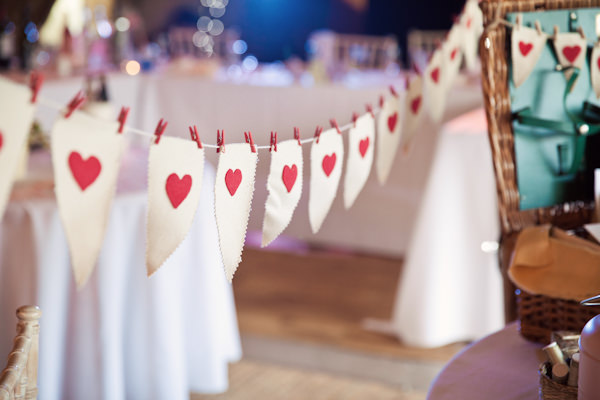 Heart Peg Wedding Bunting Ideas Decor Decoration http://www.kerryannduffy.com/