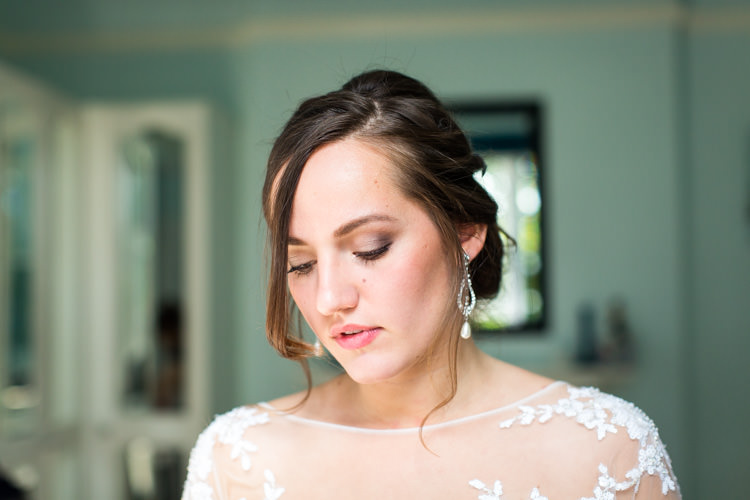 Make Up Bride Bridal Make Up Colourful DIY Village Hall Wedding http://samanthagilrainephotography.com/