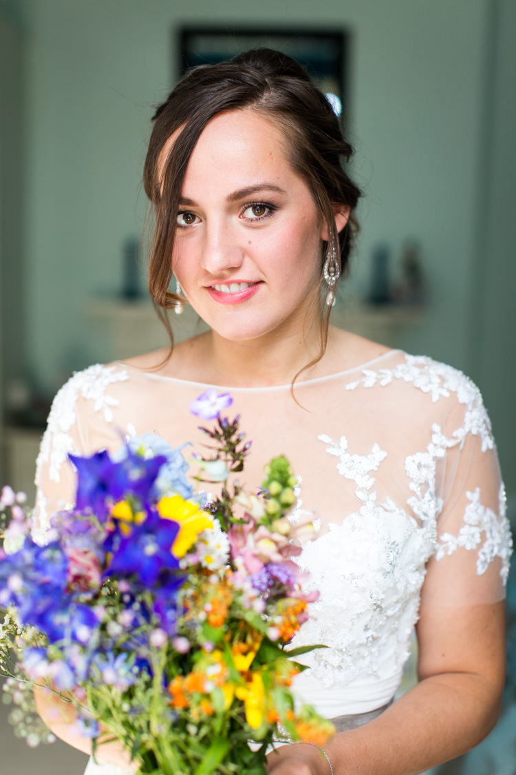 Colourful DIY Village Hall Wedding http://samanthagilrainephotography.com/