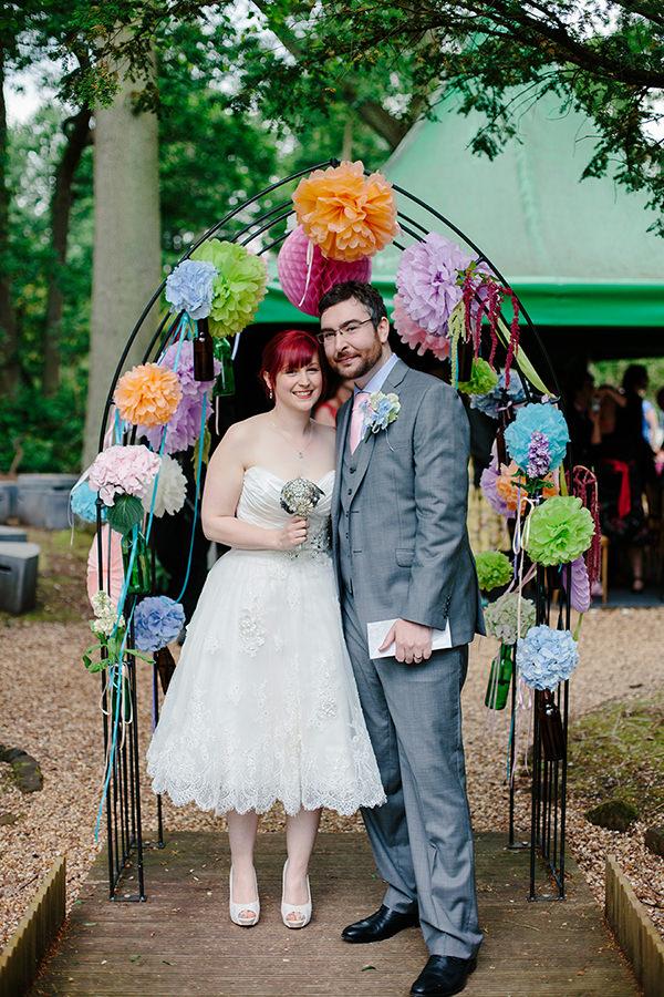 Wedding Pom Pom Arch Backdrop Ideas http://www.racheltweeddale.com/