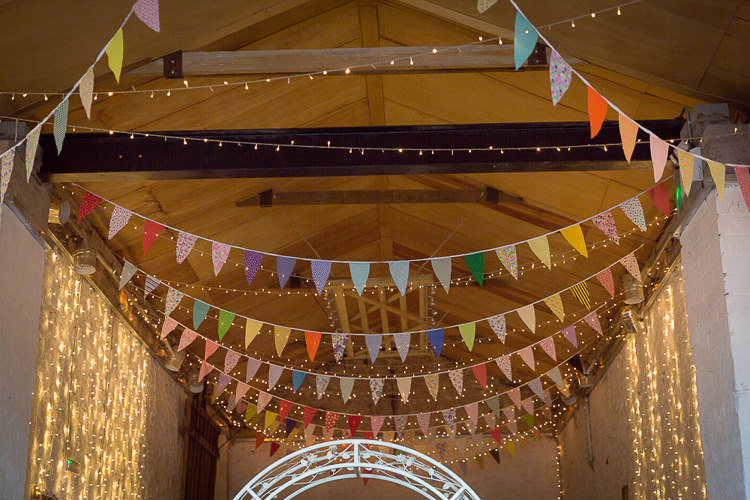 Rainbow Fairy Lights Wedding Bunting Ideas Decor Decoration http://www.rocksaltphotography.com/