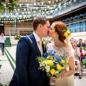 Quirky Film Inspired DIY Baths Wedding