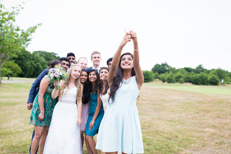 Selfie Pretty Fresh Summer Wedding http://www.charlotterazzellphotography.com/