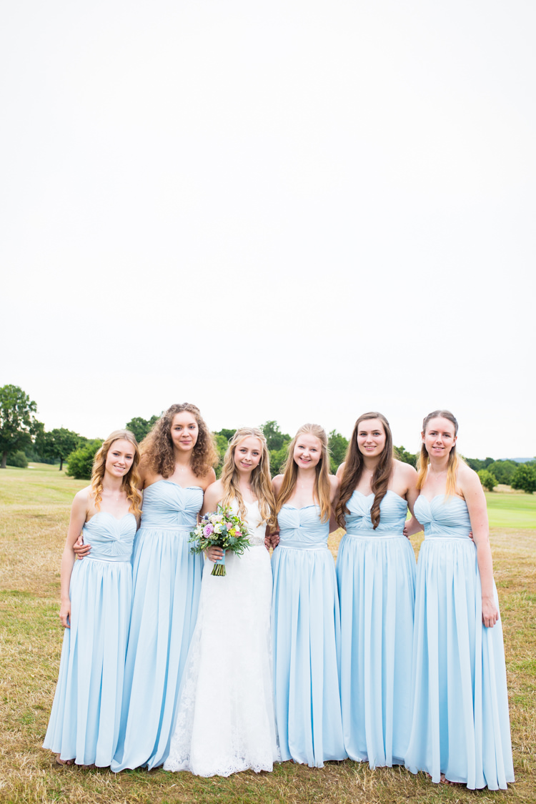 Long Pale Blue Bridesmaid Dresses Pretty Fresh Summer Wedding http://www.charlotterazzellphotography.com/