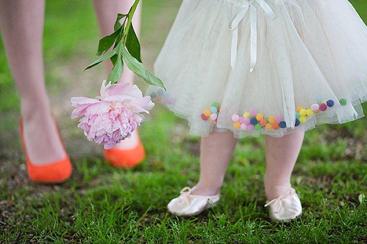 Pom Pom Tutu Flower Girls Wedding Ideas http://www.binkynixon.com/