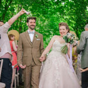 Quirky & Stylish Home Made Woodland Wedding