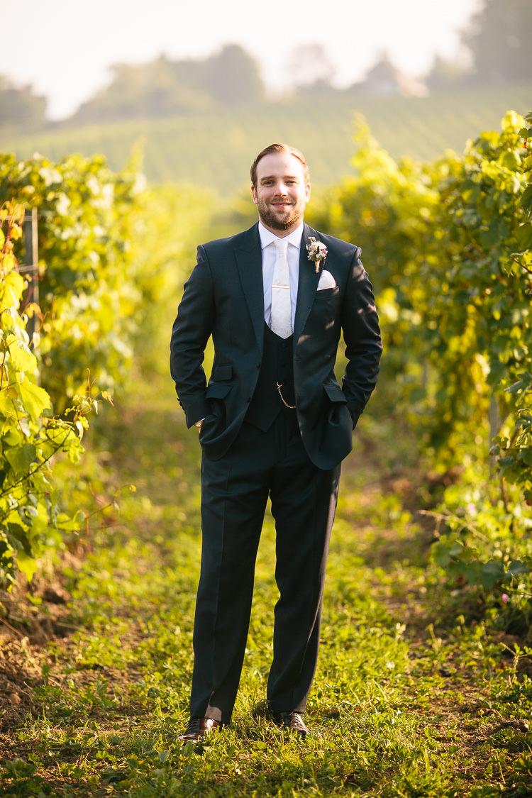 Suit Groom Black White Tie Jack Bunneys Bohemian Floral Vineyard Wedding http://albertpalmerphotography.com/